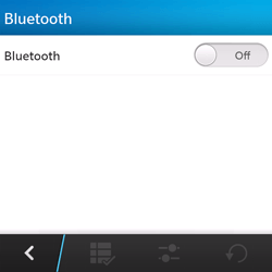 BlackBerry Q5 - Bluetooth - Pair with another device - Step 6