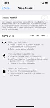 Apple iPhone XR - Wi-Fi - Como usar seu aparelho como um roteador de rede wi-fi - Etapa 6