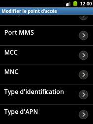 Samsung S5300 Galaxy Pocket - Mms - Configuration manuelle - Étape 14