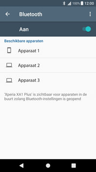 Sony Xperia XA1 Plus (G3421) - Bluetooth - Aanzetten - Stap 5