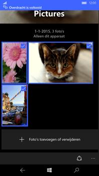 Microsoft Lumia 950 XL - Contacten en data - Foto