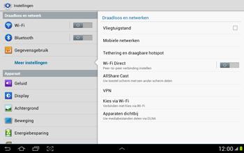 Samsung N8000 Galaxy Note 10-1 - Buitenland - Bellen, sms en internet - Stap 6