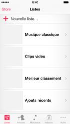 Apple iPhone 5 - Photos, vidéos, musique - Ecouter de la musique - Étape 3