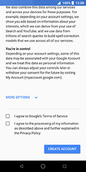 ZTE Blade V9 - Applications - Create an account - Step 15