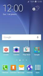 Samsung Galaxy S6 - Rede móvel - Como ativar e desativar o modo avião no seu aparelho - Etapa 1