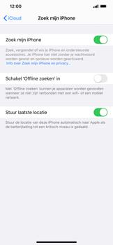 Apple iphone-xs-max-met-ios-13-model-a1921 - Beveiliging en ouderlijk toezicht - Zoek mijn iPhone inschakelen - Stap 13