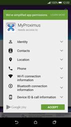 HTC Desire 626 - Applications - MyProximus - Step 8