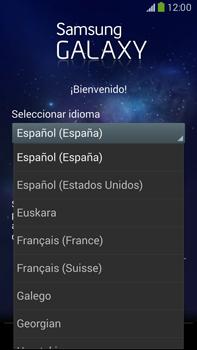 Samsung Galaxy Note 3 - Primeros pasos - Activar el equipo - Paso 3