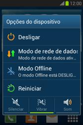 Samsung S6293T Galaxy Young Plus - Funções básicas - Como reiniciar o aparelho - Etapa 3