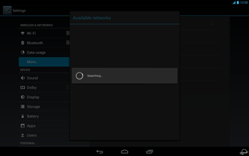 Acer Iconia Tab A3 - Network - Usage across the border - Step 9