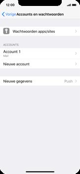 Apple iPhone X - E-mail - e-mail instellen: IMAP (aanbevolen) - Stap 28