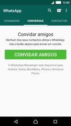 Sony Xperia M4 Aqua - Aplicações - Como configurar o WhatsApp -  11