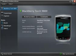 BlackBerry 9800 Torch - Software - Update installeren via PC - Stap 17