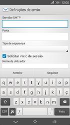 Sony Xperia E4 - Email - Configurar a conta de Email -  13
