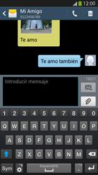 Samsung Galaxy S4 - Mensajería - Escribir y enviar un mensaje multimedia - Paso 10