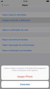 Apple iPhone 6s Plus - iOS 11 - Repor definições - Como repor definições de fábrica do telemóvel -  7