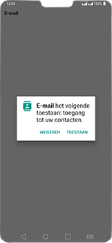 LG v40-thinq-lm-v405ebw - E-mail - Account instellen (IMAP met SMTP-verificatie) - Stap 23