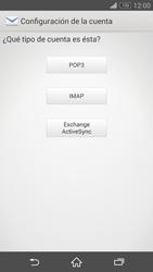 Sony Xperia Z3 - E-mail - Configurar correo electrónico - Paso 7