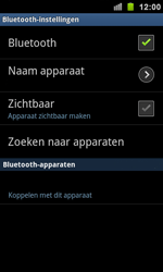 Samsung I9100 Galaxy S II - Bluetooth - headset, carkit verbinding - Stap 7
