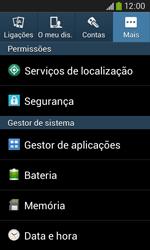 Samsung Galaxy Ace 3 LTE - Segurança - Como ativar o código PIN do cartão de telemóvel -  5