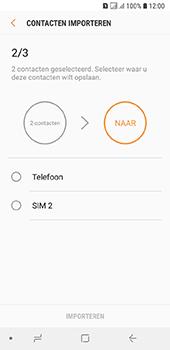 Samsung galaxy-a6-sm-a600fn-ds - Contacten en data - Contacten kopiëren van SIM naar toestel - Stap 11