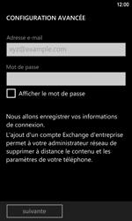 Nokia Lumia 920 LTE - E-mail - Configuration manuelle - Étape 7