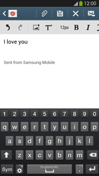 Samsung I9505 Galaxy S IV LTE - E-mail - Sending emails - Step 10