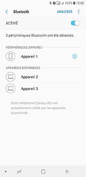 Samsung Galaxy A6 - Internet et connexion - Connexion avec un équipement multimédia via Bluetooth - Étape 10