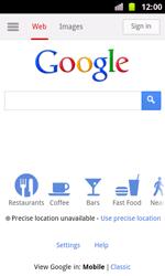 Samsung I8160 Galaxy Ace II - Internet - Internet browsing - Step 4