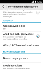 Huawei Ascend Y330 - Bellen - in het buitenland - Stap 5