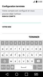 LG K4 2017 - E-mail - Configuration manuelle - Étape 19