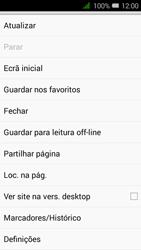 Alcatel Pixi 3 - Internet no telemóvel - Como configurar ligação à internet -  23