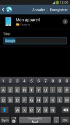 Samsung I9505 Galaxy S IV LTE - Internet - Navigation sur Internet - Étape 7