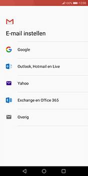 Huawei Mate 10 Lite - E-mail - handmatig instellen (gmail) - Stap 7