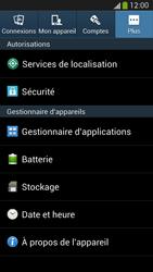 Samsung Galaxy S4 - Sécuriser votre mobile - Personnaliser le code PIN de votre carte SIM - Étape 5