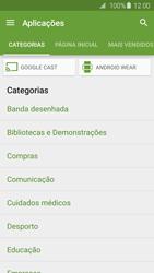 Samsung Galaxy S6 Edge - Aplicações - Como pesquisar e instalar aplicações -  6