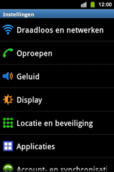 Samsung S5830i Galaxy Ace i - Internet - aan- of uitzetten - Stap 4