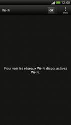 HTC One S - Internet et connexion - Accéder au réseau Wi-Fi - Étape 5