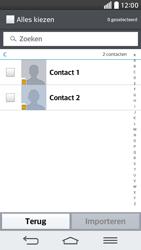 LG D620 G2 mini - Contacten en data - Contacten kopiëren van SIM naar toestel - Stap 7
