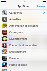 Apple iPhone 4 S iOS 7 - Applications - Télécharger des applications - Étape 6