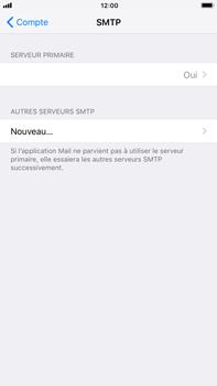 Apple iPhone 6 Plus - iOS 11 - E-mail - Configuration manuelle - Étape 22