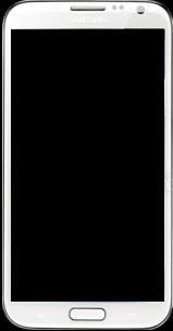 Samsung Galaxy Note 2 - Premiers pas - Découvrir les touches principales - Étape 4