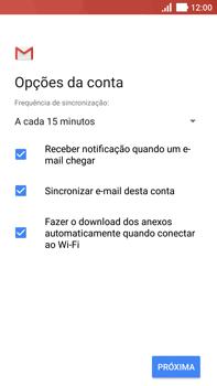 Asus Zenfone 3 - Email - Como configurar seu celular para receber e enviar e-mails - Etapa 11