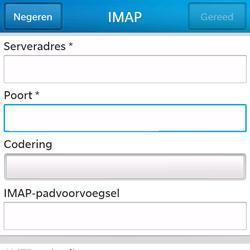 BlackBerry Q5 - E-mail - e-mail instellen: IMAP (aanbevolen) - Stap 11