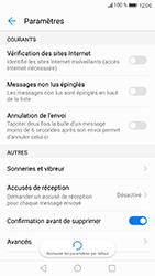Huawei P8 Lite 2017 - SMS - configuration manuelle - Étape 6