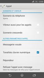 Sony E2003 Xperia E4G - Messagerie vocale - configuration manuelle - Étape 6