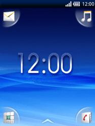 Sony Ericsson Xperia X10 Mini - Internet - Popular sites - Step 1