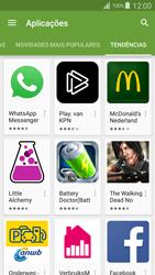 Samsung Galaxy S4 LTE - Aplicações - Como pesquisar e instalar aplicações -  13