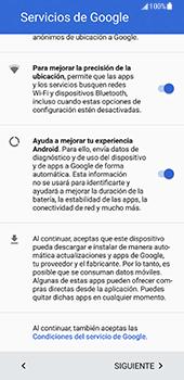 Samsung Galaxy S8 - Primeros pasos - Activar el equipo - Paso 9
