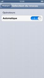 Apple iPhone 5 - Réseau - utilisation à l'étranger - Étape 7